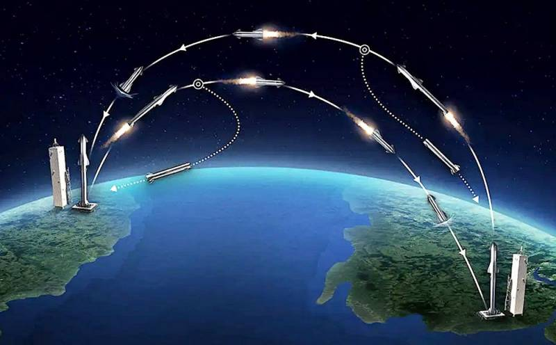 За час в любую точку планеты: Пентагон намерен доставлять грузы по орбите Техно