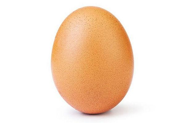 Фото яйца побило рекорд по лайкам в инстаграме