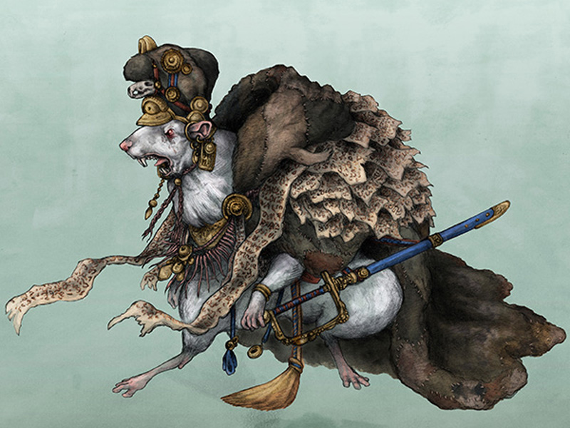 Крысиный король: подземный демон средневековой Европы