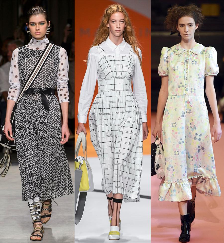 Модные и скромные платья