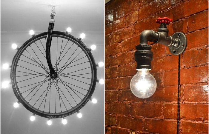 10 оригинальных светильников из вполне обыденных предметов