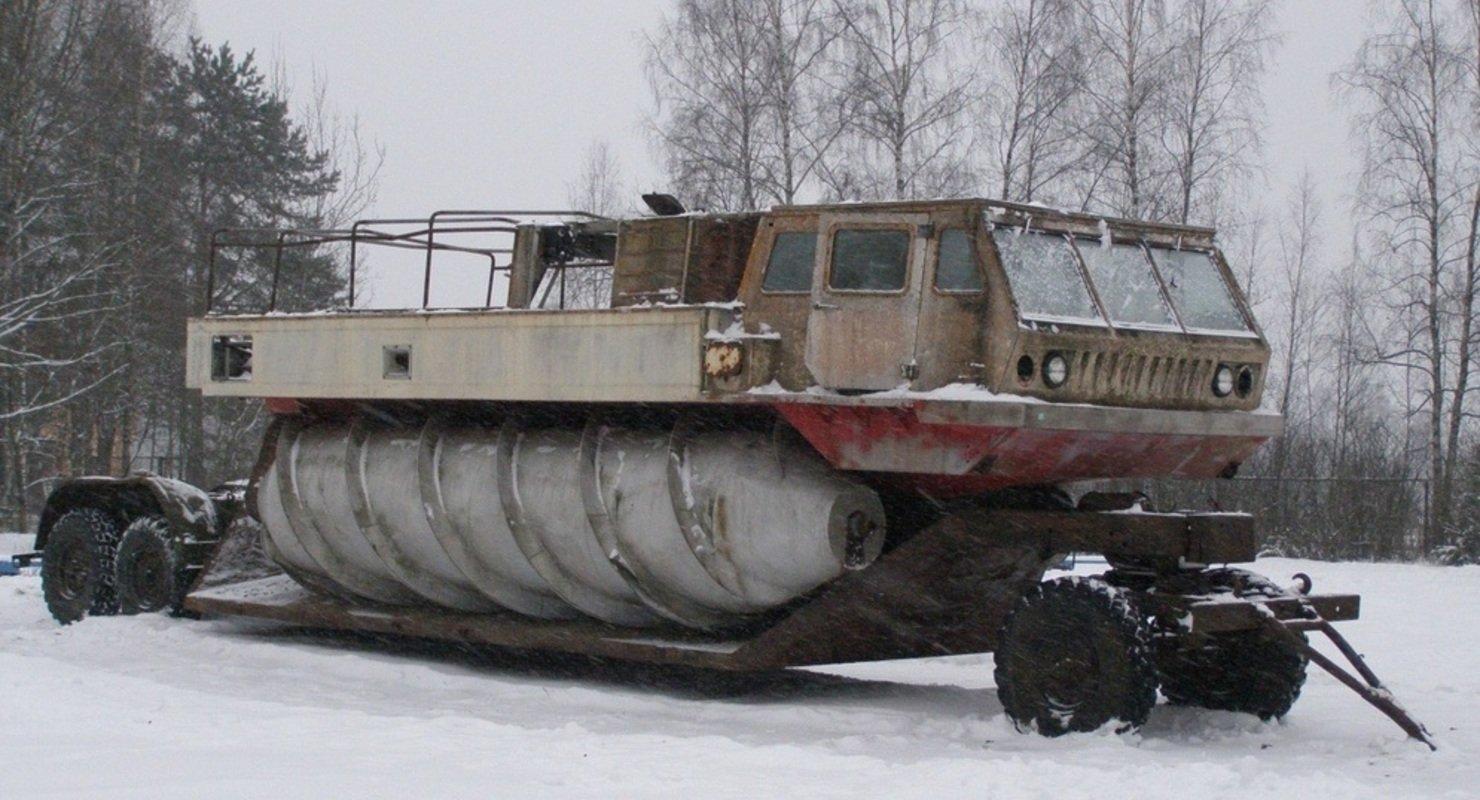 ЗиЛ-4904 — самый засекреченный вездеход СССР Автомобили