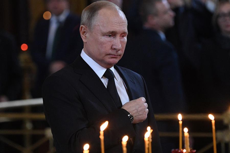 О достоверно подтверждённой большой потере Владимира Путина