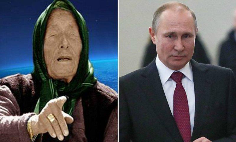 """""""Путин будет править миром?"""" Западных СМИ напугали слова Ванги о будущем Путина"""