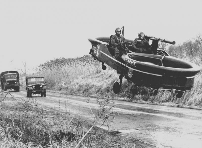 Летающий джип для американской армии. Piasecki VZ-8 Airgeep оружие