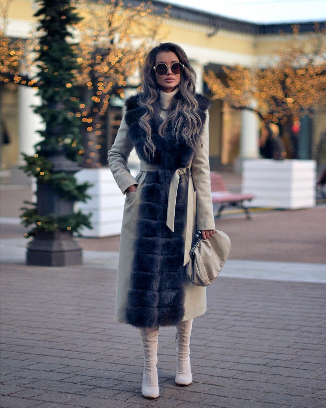 длинное пальто 2020 фото 3