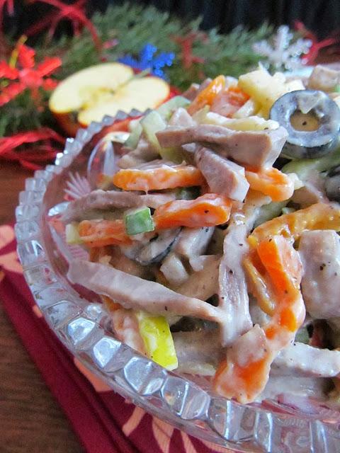 рецепт салатов на стол