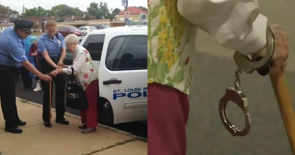 102-летнюю бабушку арестовали, чтобы она вычеркнула пункт «Быть арестованной» из списка желаний