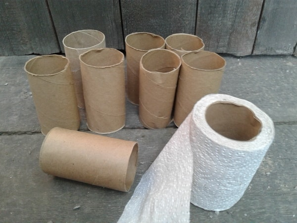 втулки от туалетной бумаги применение фото