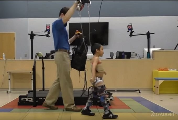 Экзоскелет для самостоятельного передвижения детей с ДЦП