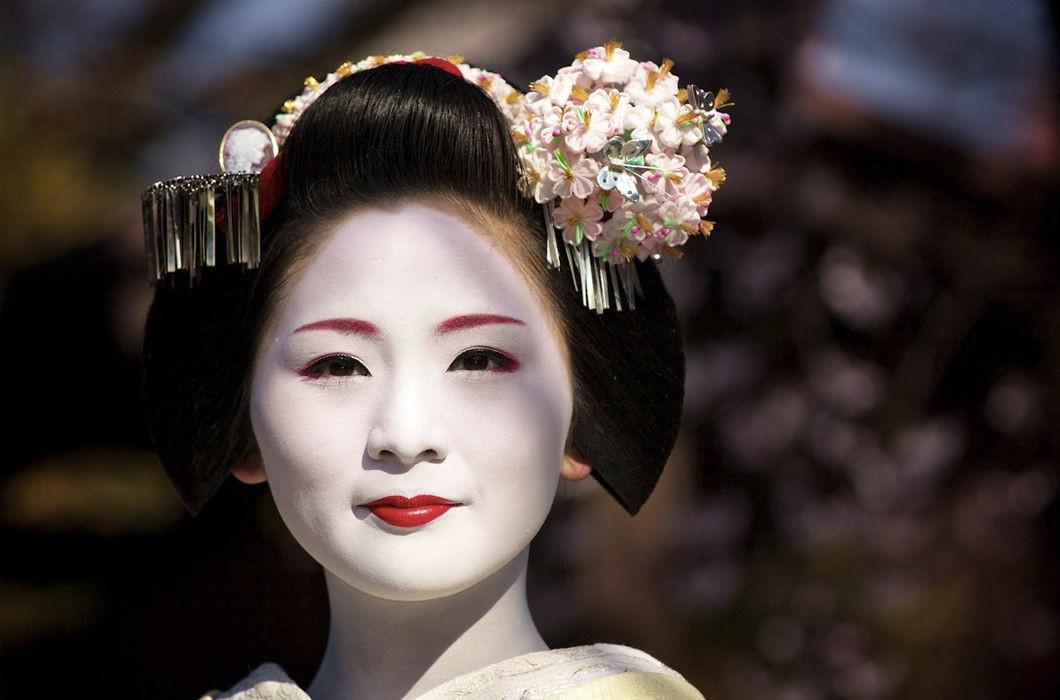 Япония волосы, прическа