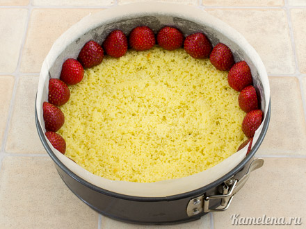 Торт «Фрезье» — 10 шаг