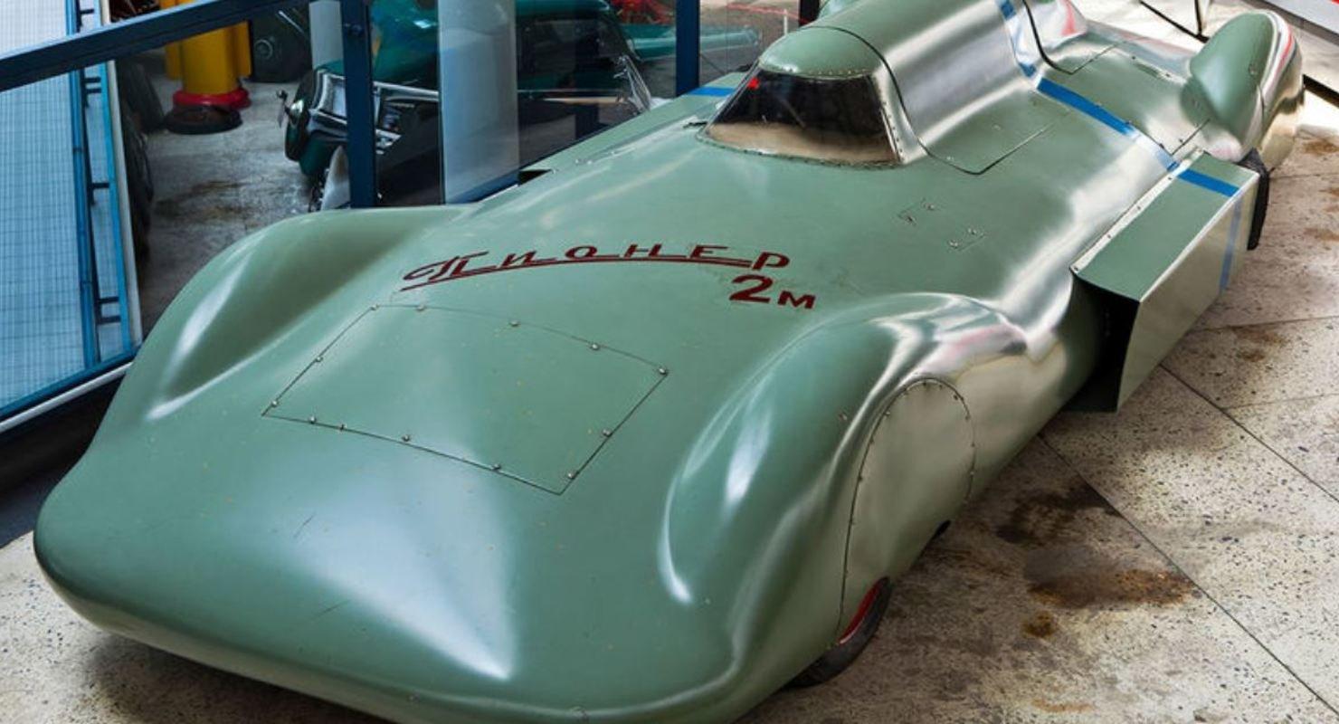 Первый советский болид «Пионер» установил 13 рекордов по скорости Автомобили