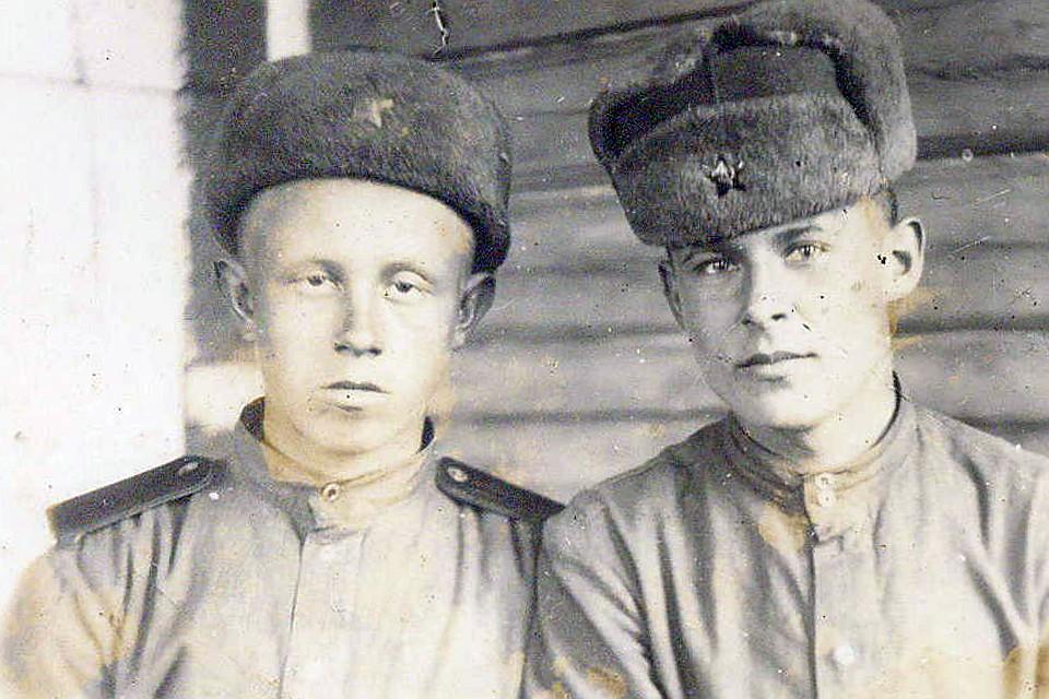 Двоюродные братья Борис Федосеев (слева) и Анатолий Николаев.