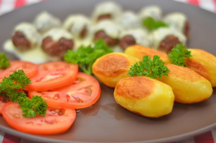 """Французский рецепт картофеля """"Шато"""". Очень просто"""