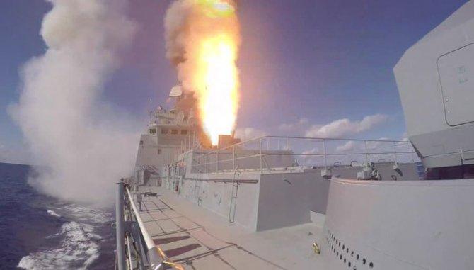 Россия разместила ракеты на …