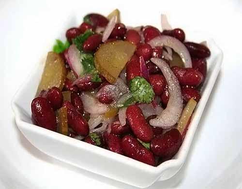 Салат с красной консервирова…