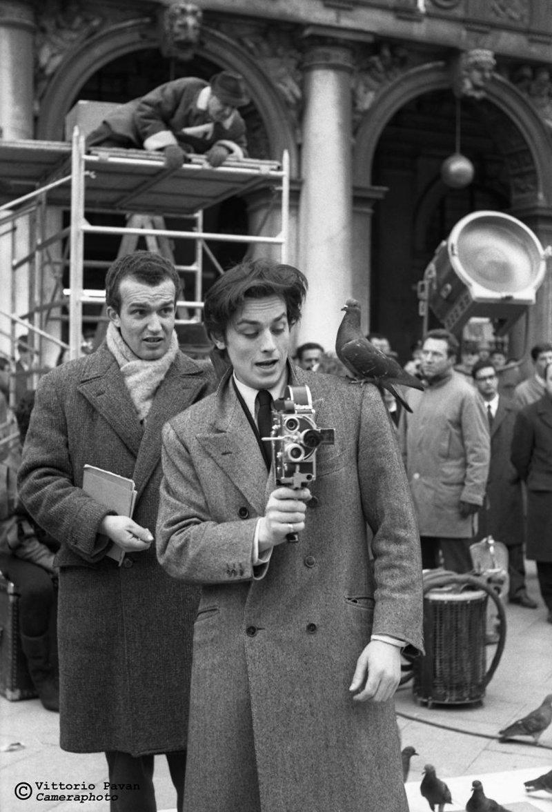 Ален Делон архив, венеция, негативы, фотографии