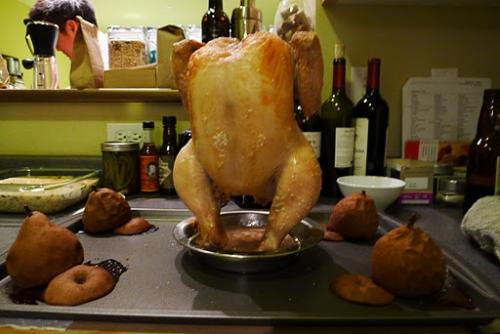 Food Porn – Курица с грушами