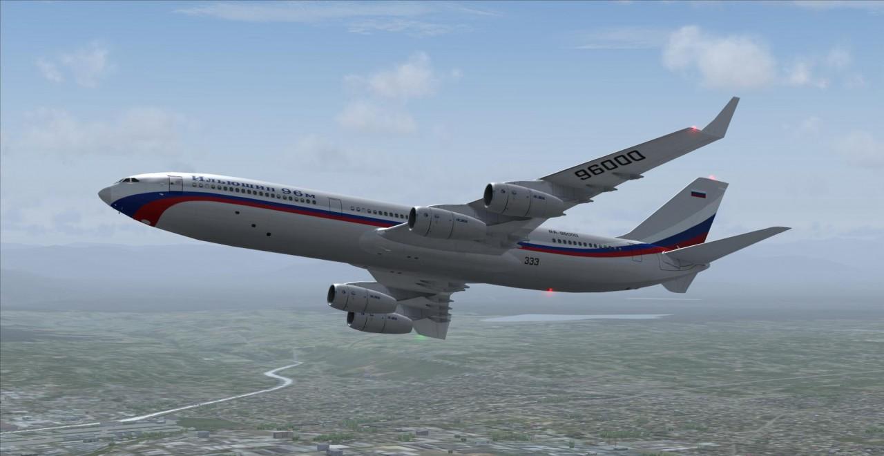 Названы сроки презентации модернизированного Ил-96-400М