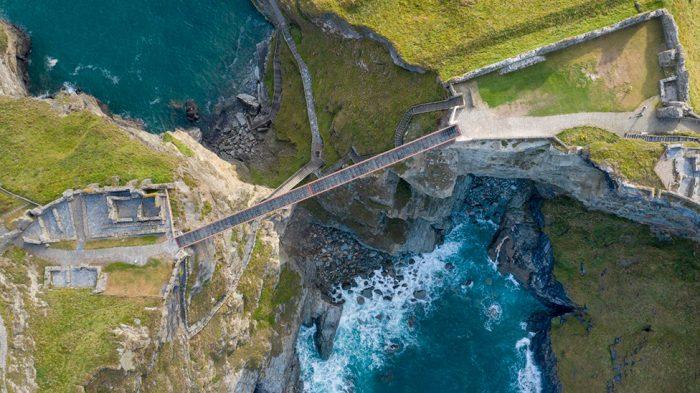 Мост в Великобритании для сильных духом англия,велиокбритания,мост,путешествие,туризм