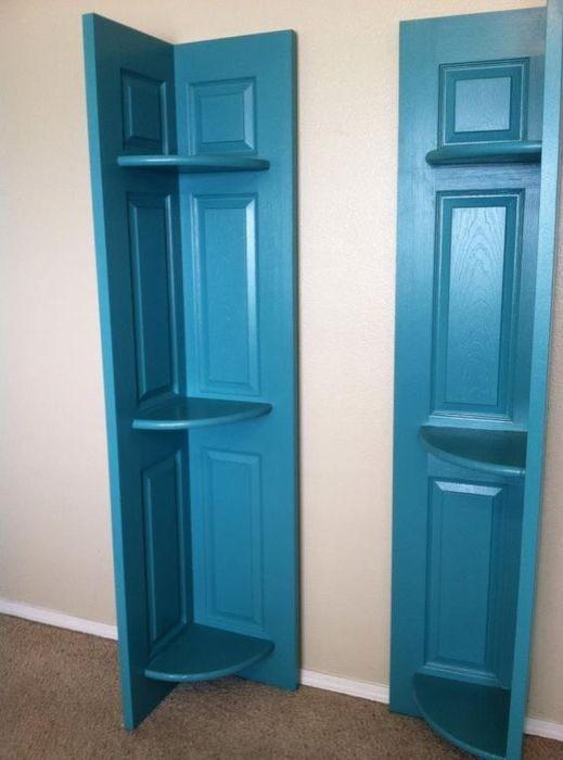 Стеллаж или уголок для мелочей под покраску двери, полезные советы, своими руками, сделай сам, фото