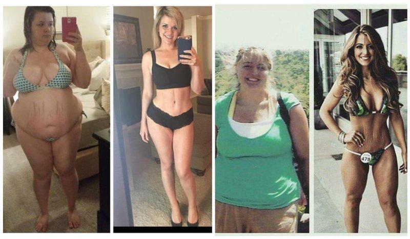 Женщины Которые Правда Похудели. Невероятные истории похудения людей с фотографиями до и после