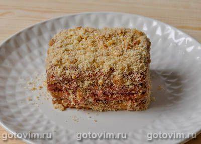 Песочное пирожное без выпечки, Шаг 05