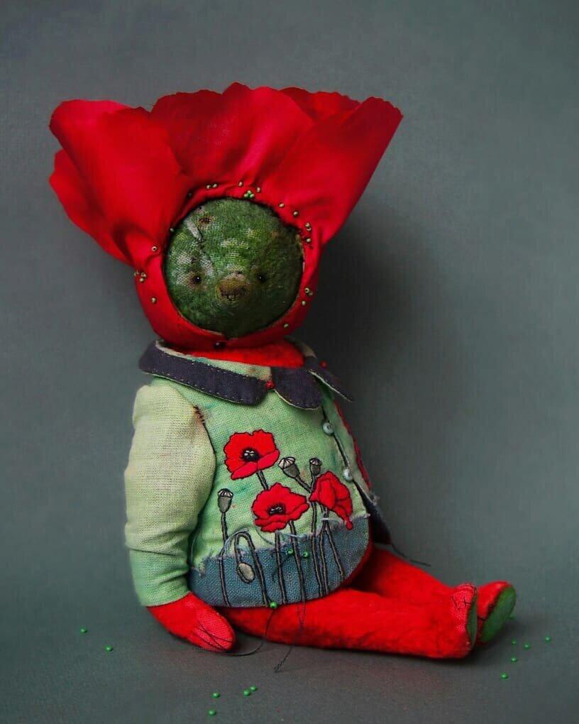 «Овощные зайцы» и «цветочные мишки» Татьяны Паранчук не похожи на игрушки, которые я видела раньше игрушки,мастерство,творчество