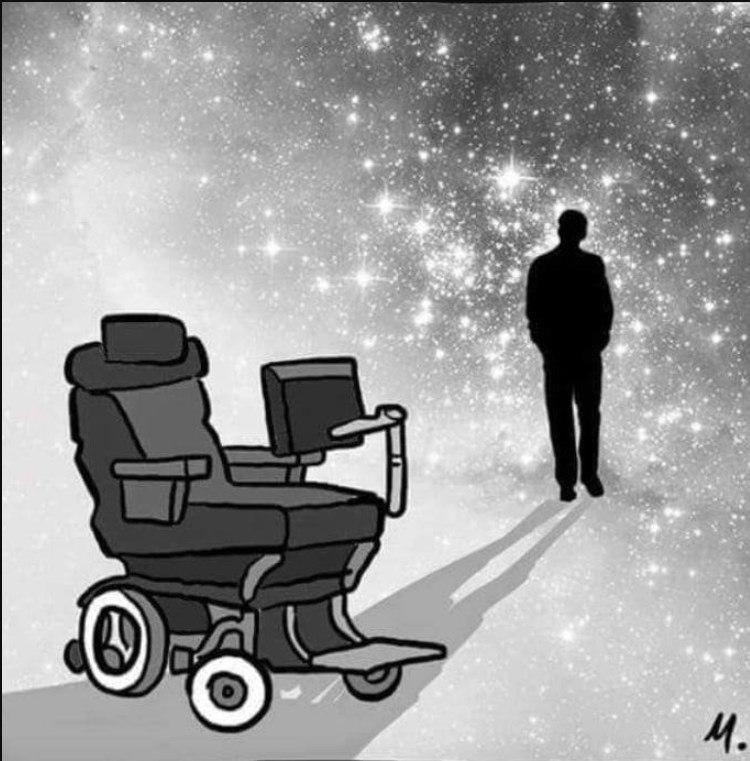 Картинки по запроÑу stephen hawking tribute cartoon