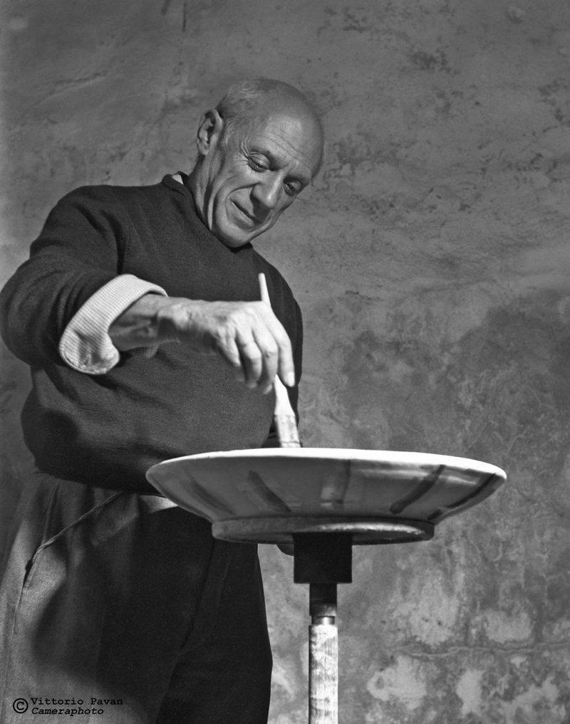 Пабло Пикассо архив, венеция, негативы, фотографии