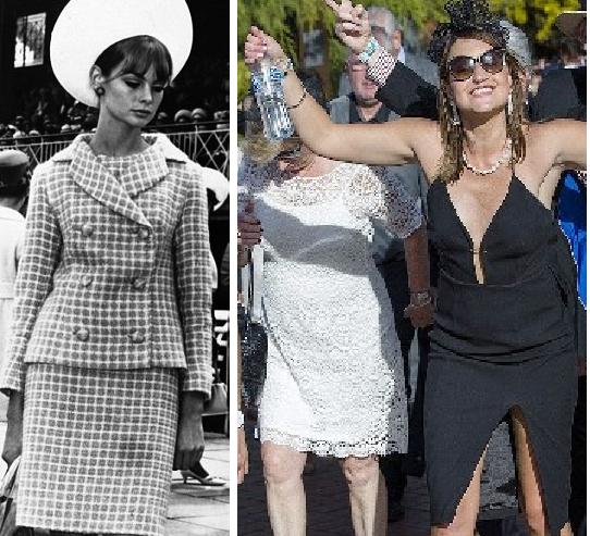 Светская мода становится все откровеннее — скачки в Мельбурне