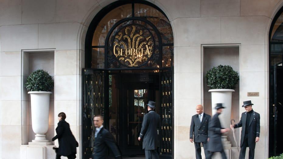 Неизвестные совершили налёт на «лучший в мире» отель