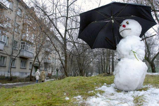 Александр Соколов. Не получится слепить снеговика...