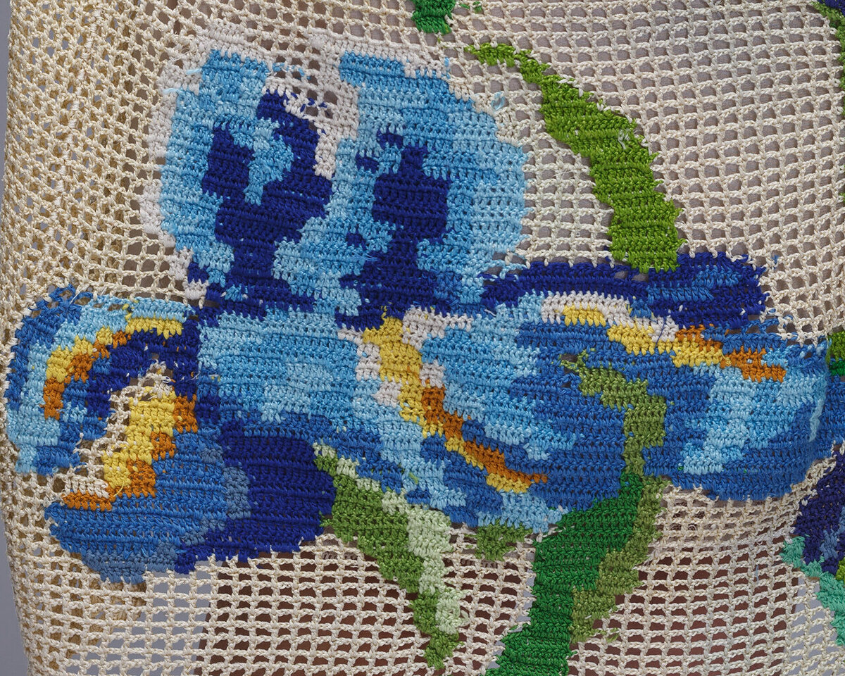 Живые цветы в филейном вязании от Натальи Олейниковой вязание,мастерство,творчество