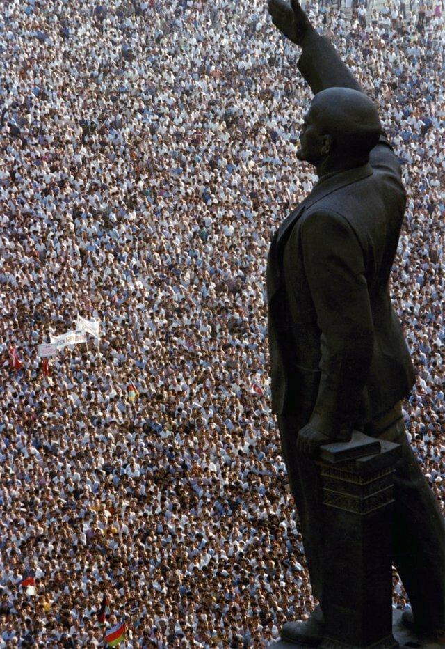 9. Митинг за независимость Баку, январь 1990 года интересно, исторические фото, история, ностальгия, фото