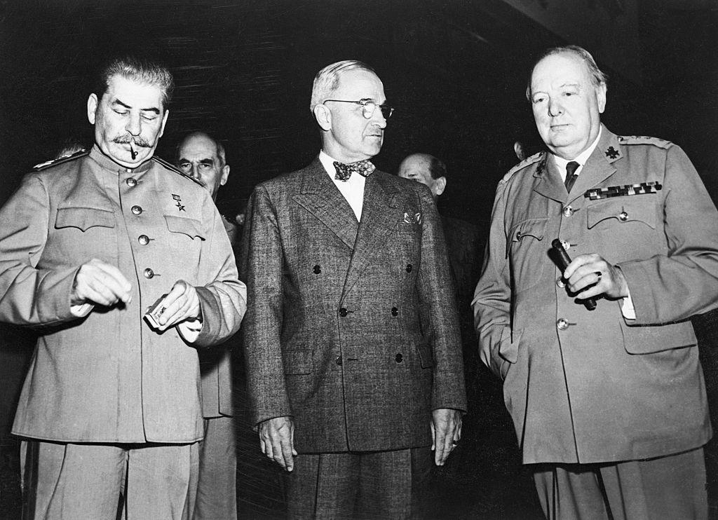 Решено в Потсдаме: как прошла последняя официальная встреча «большой тройки» жизнь,история,курьезы,факты