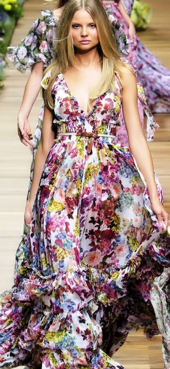 Роскошь — великолепные платья  в пол...Идеи для вдохновения