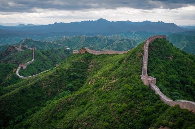 Величайшие сооружения прошлого. Китайская стена