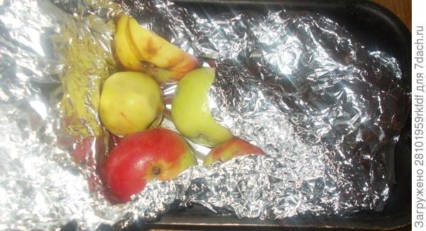 Запекаем в фольге яблоки