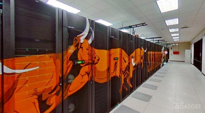 Самый мощный суперкомпьютер можно увидеть в виртуальном туре