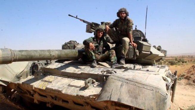 Уникальный российский танк засветился в Сирии