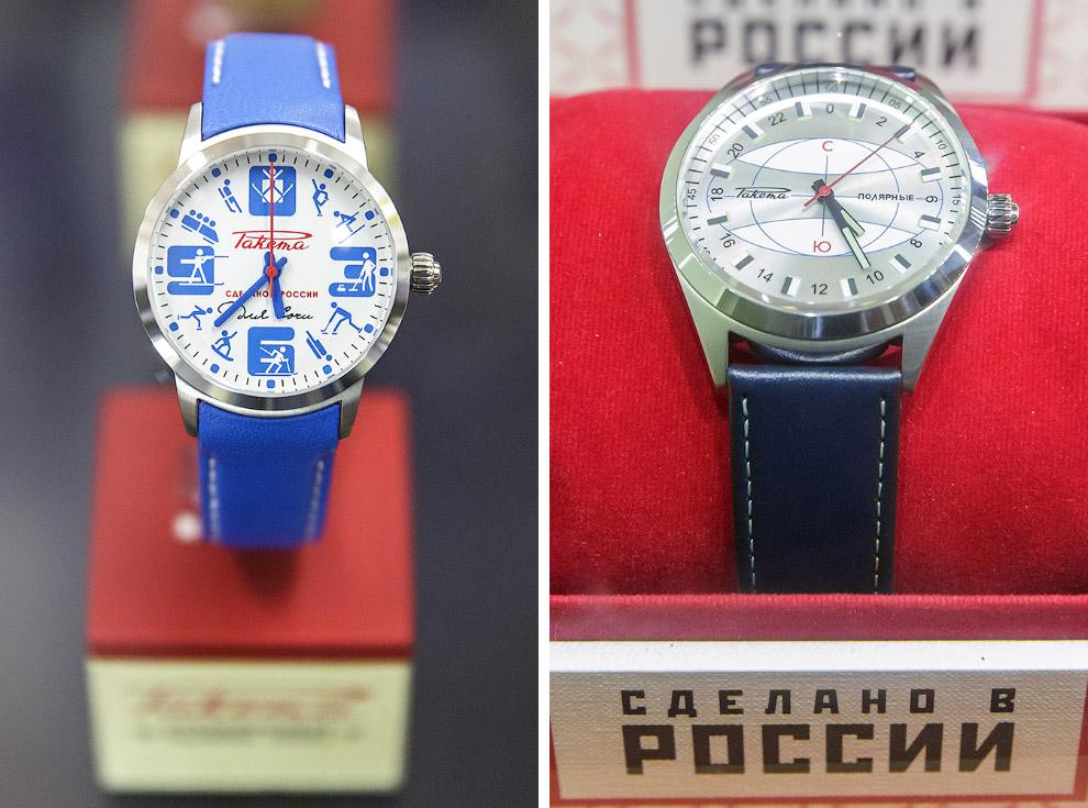 Как делают часы в России путешествия