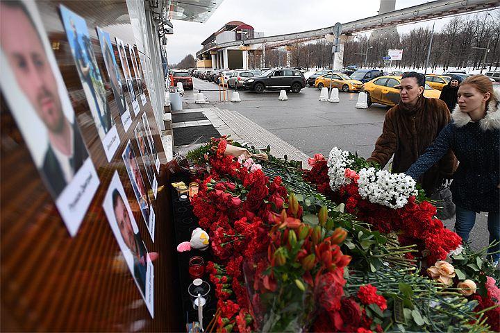 Начат сбор средств для семей погибших журналистов в авиакатастрофе ТУ-154