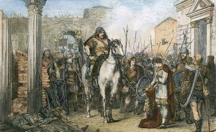 Переворот Одоакра