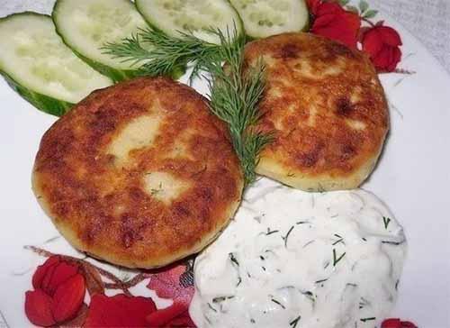 Картофельные котлеты с гриба…