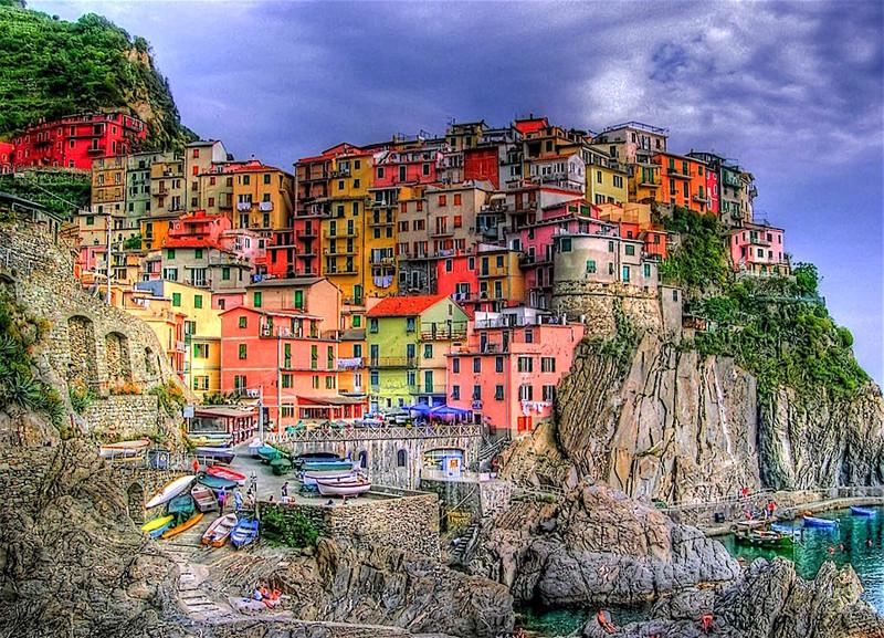 Фонтан красок! Самые разноцветные города мира