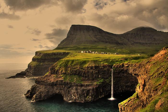 Гасадалур, Фарерские острова.