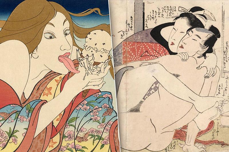 Только без поцелуев: культура секса у японцев до XX века