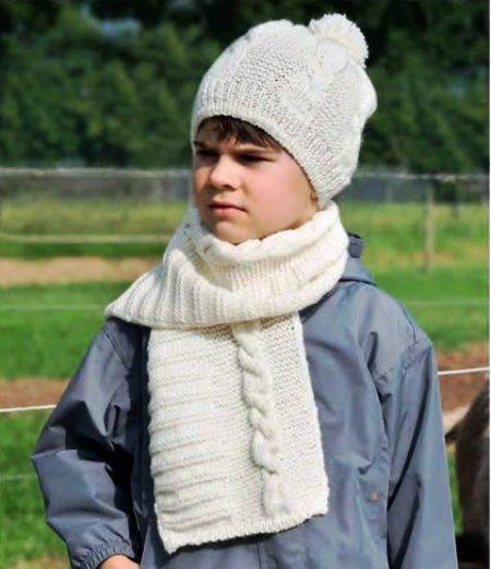 ВЯЖЕМ. Шапку и шарф